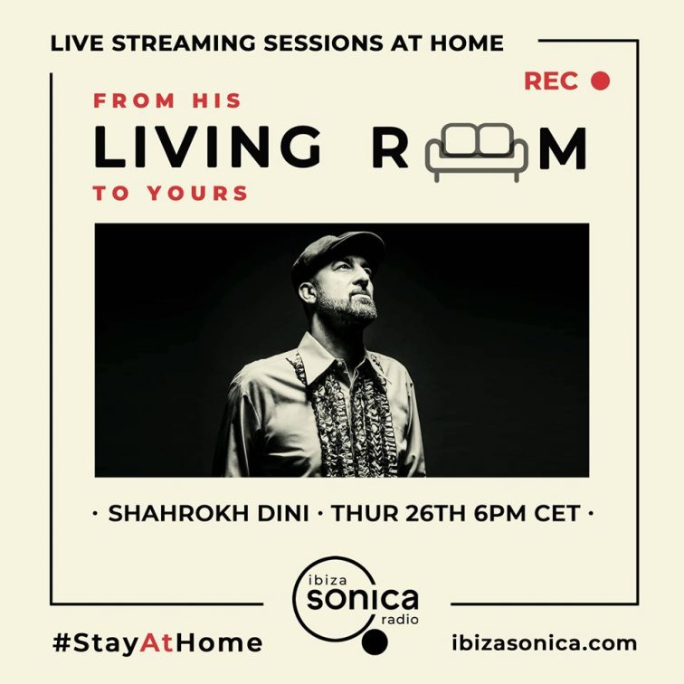 DJ Shahrok Dini Stayathome podcast