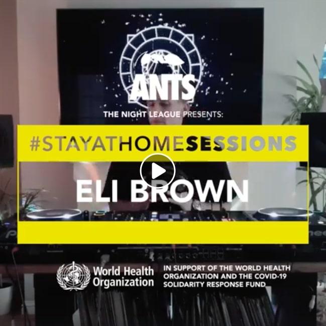Eli Brown ANTS #Stayathomesessions