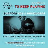 Noisegarden Radio show Karlos Sense